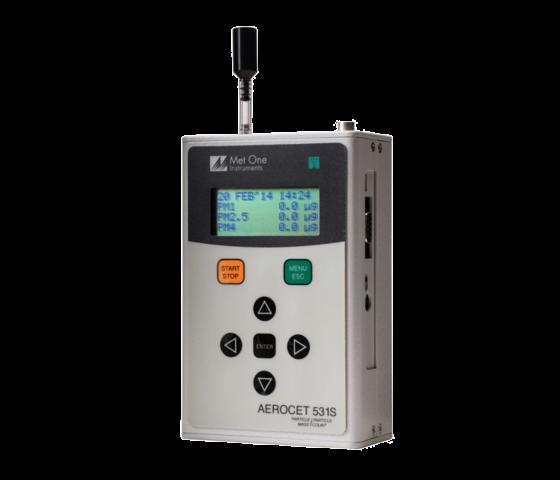 Aerocet531S 手持式粉塵檢測/微粒計數器