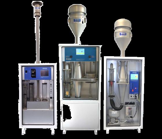 歐規高低流量環境/周界採樣器,可採集PM2.5, PM10, TSP與氣狀汙染物如戴奧辛。