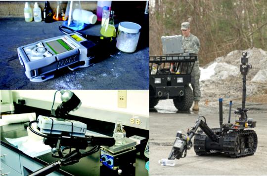 手持式拉曼物質鑑定儀具多種配件選項