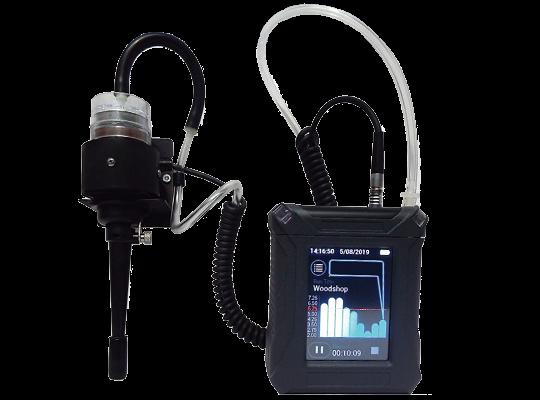 HD-7204 全採觸控個人直讀式氣膠監測器