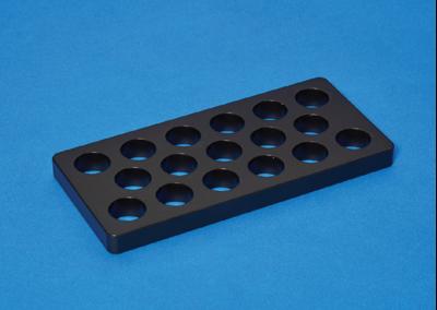 17孔抗鏽蝕石墨加熱塊