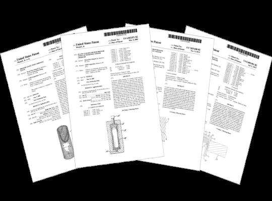CEM的微波消化瓶組一系列瓶組設計專利書,保證瓶組優異的效能