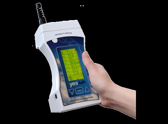 八合一室內空氣品質監測器