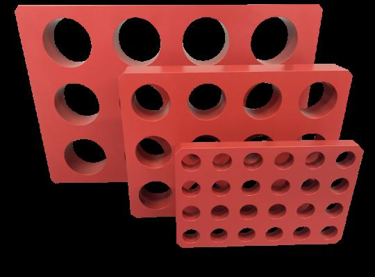 Analab抗酸蝕全鐵氟龍包覆石墨加熱板具不同尺寸供選擇