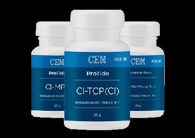 胜肽合成化學試劑,包含高效率胜肽合成樹脂、高品質Fmoc-胺基酸、Oxyma Pure。