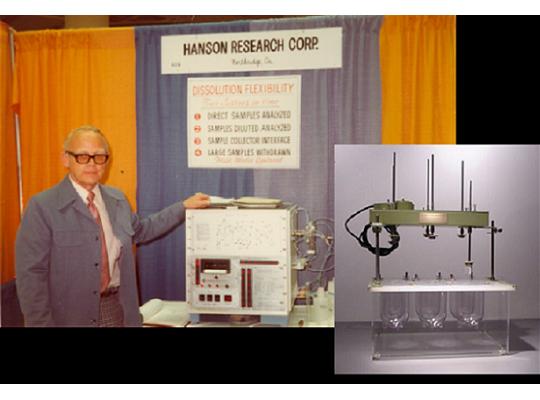 Hanson 全球第一台溶離試驗機