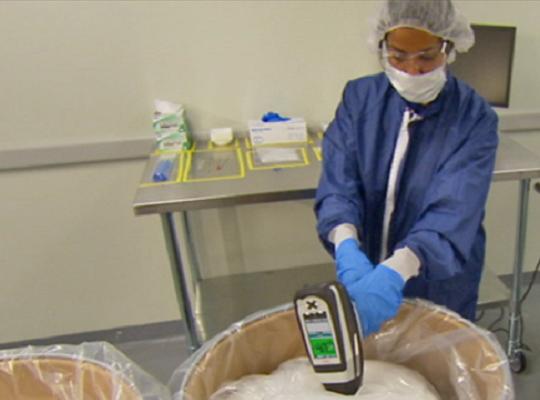 藥廠專用手持式NIR鑑定儀可輕鬆操作無負擔
